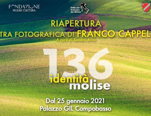 Identità Molise, lunedì riapre la mostra fotografica di Franco Cappellari a cura di Sandro Arco